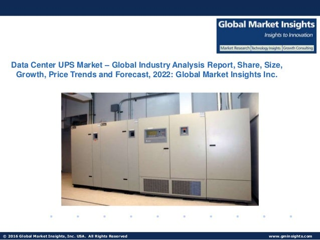 Data Center UPS Market share forecast to exceed $6 5bn by