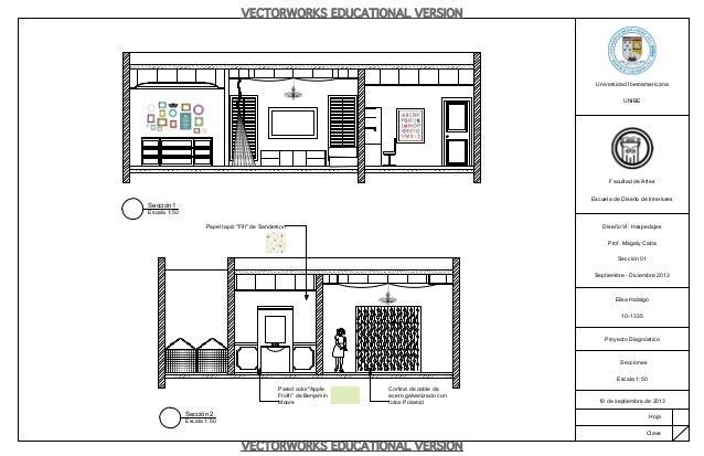 Proyecto diagn stico dise o vi for Curso de diseno de interiores en linea