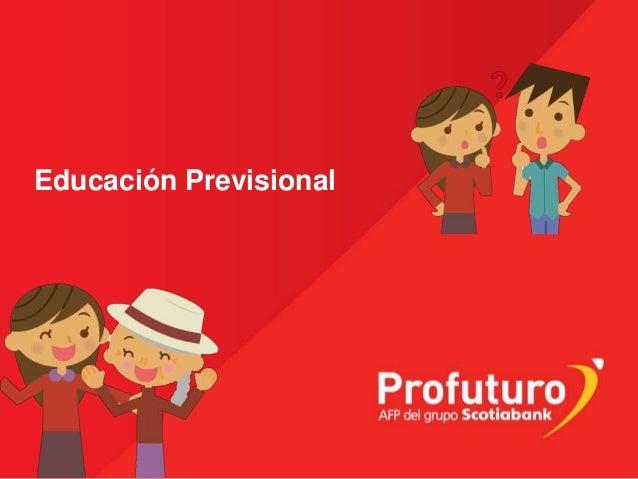 Educación Previsional