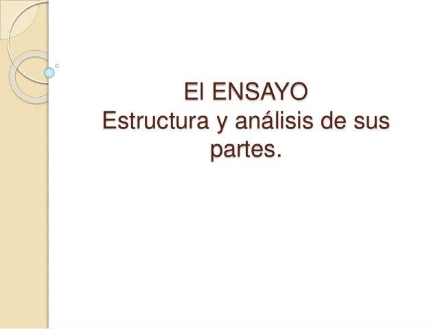 Ppt El Ensayo 2018
