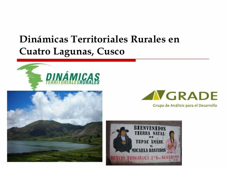 Dinámicas Territoriales Rurales en Cuatro Lagunas, Cusco