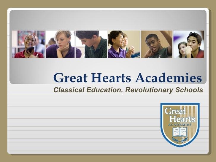 Great Hearts Academies Classical Education, Revolutionary Schools