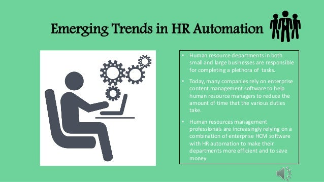 PPT on Emerging trend in HR Automation