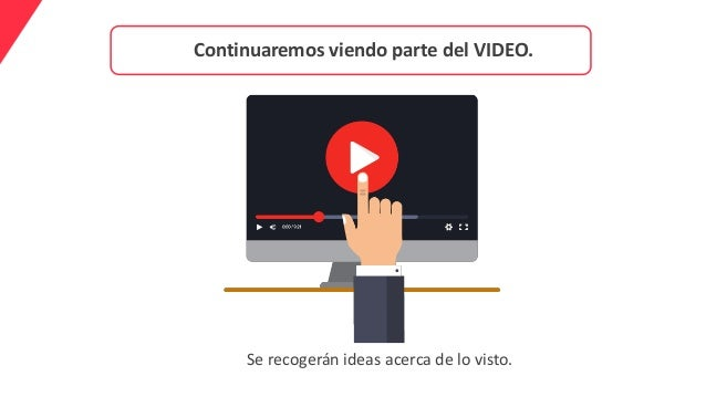 Continuaremos viendo parte del VIDEO. Se recogerán ideas acerca de lo visto.