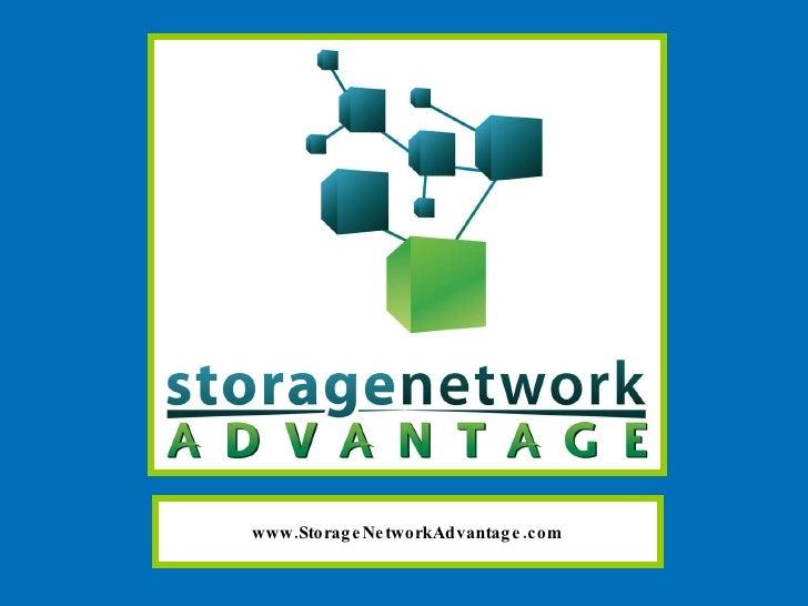 www.StorageNetworkAdvantage.com