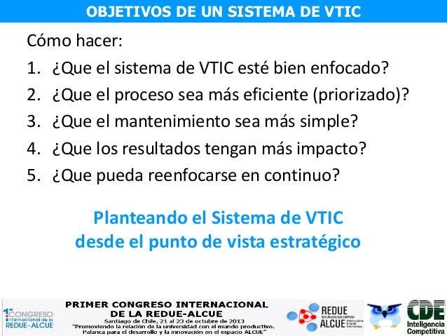 I Congreso RedUE-ALCUE - Panel de Vigilancia Tecnológica: Juan Carlos Vergara Slide 3