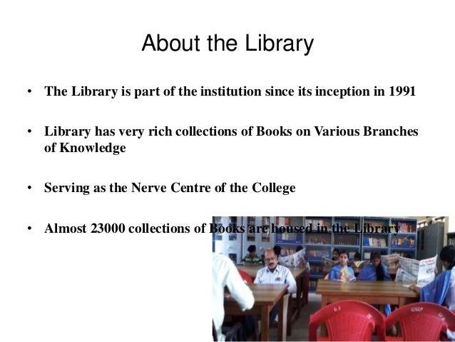 Library Presentation-NAAC Slide 2