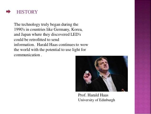 LI-FI technology!