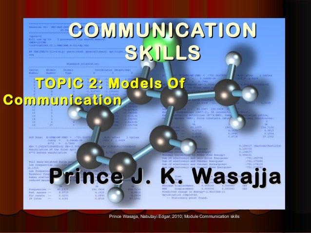 Prince Wasajja, Nabutayi Edgar, 2010; Module Communication skillsPrince Wasajja, Nabutayi Edgar, 2010; Module Communicatio...