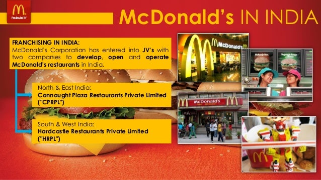 macdonald in india Looking for the best mcdonald's corporation swot analysis in 2018 click here to find out mcdonald's strengths, weaknesses, opportunities and threats.