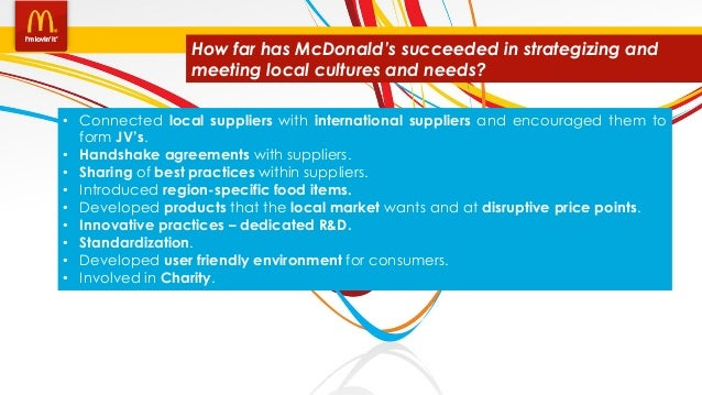 mcdonalds pakistan case study Mcdonalds case study essay • to relate with case study: ronald mcdonald was opened by mcdonalds in asia in 1996 for the house welcomes families with critically.