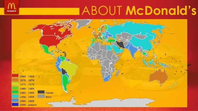 Mcdonald S At The Receiving End Case Study