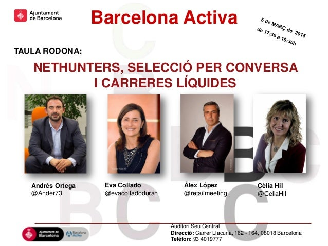 Hola hola hola Hola hola hola Hola hola hola hola hola hola hola hola hola Barcelona Activa Andrés Ortega @Ander73 TAULA R...