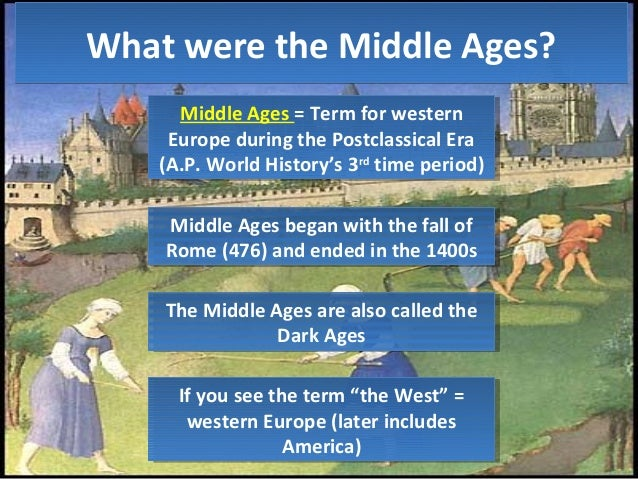 the history of the imperialism during the european middle ages Dbq: the european middle ages  in world history patterns of interaction literature section  during the middle ages from the richest king down t ha.