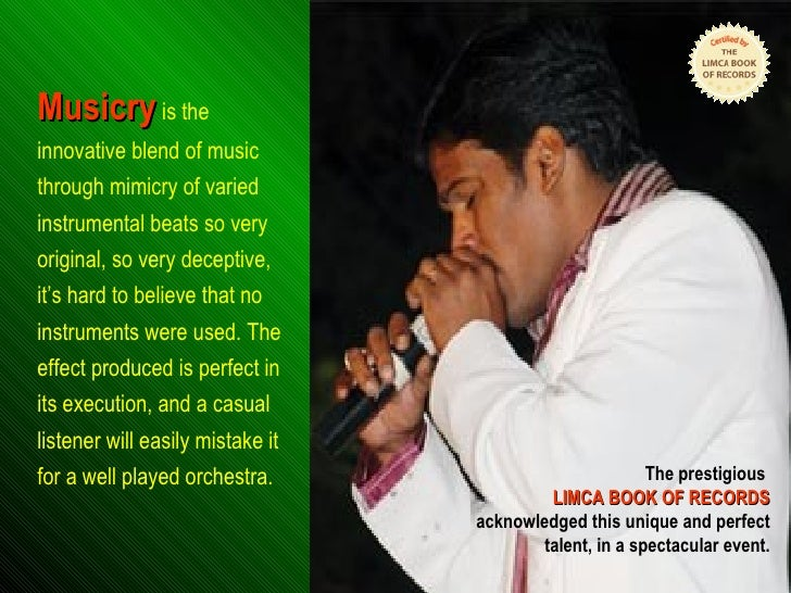 MUSICRY - Voice Musican Slide 2