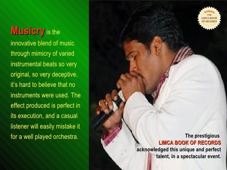 MUSICRY Harikrishna Slide 2