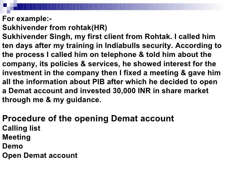 project report on demat account A project report on the desire of completing this project was given through the demat account 8 personal details.