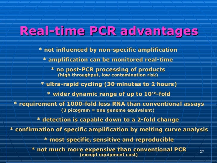 how much template dna for pcr - appli