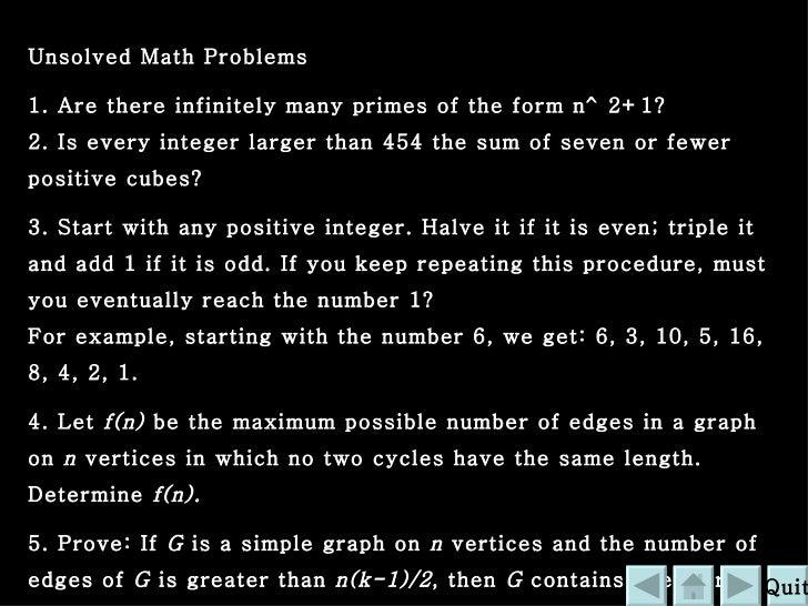 Ppt Project Math