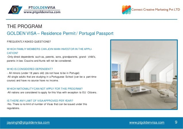 THE PROGRAM GOLDEN VISA – Residence Permit / Portugal Passport FREQUENTLYASKED QUESTIONS? WHICH FAMILIY MEMBERS CAN JOIN M...