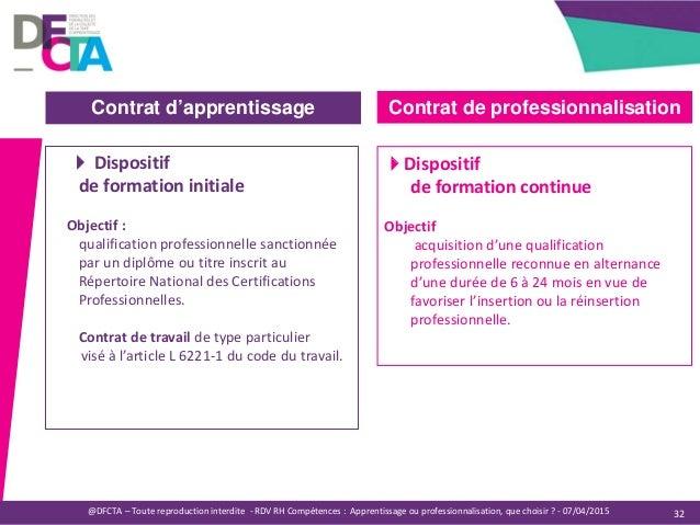 Apprentissage ou professionnalisation, que choisir