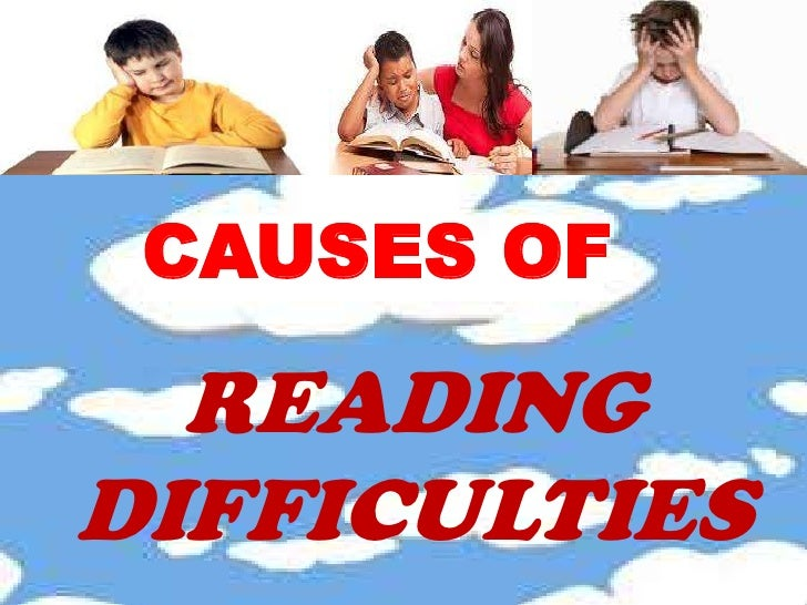the difficulties in reading comprehension of Find out if your child's language and reading problems are evidence of a learning disability.