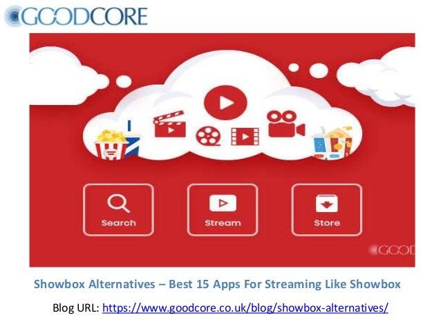 Showbox Alternatives – Best 15 Apps For Streaming Like Showbox Blog URL: https://www.goodcore.co.uk/blog/showbox-alternati...