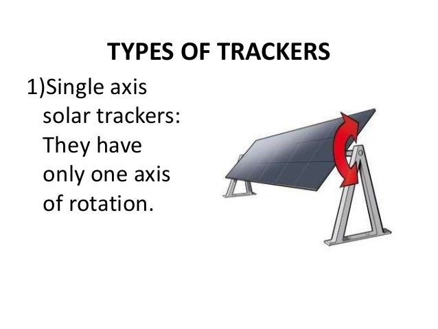 Solar Tracker Presentation