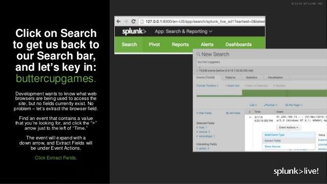 SplunkLive! Frankfurt 2018 - Getting Hands On with Splunk