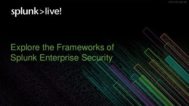 Splunk Enterprise Security