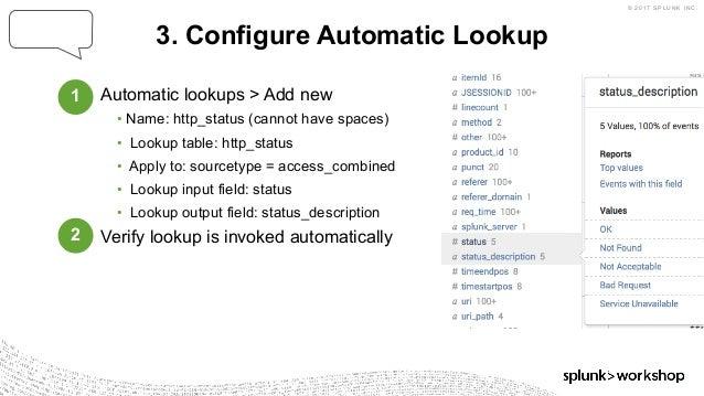 Splunk workshop-Machine Data 101