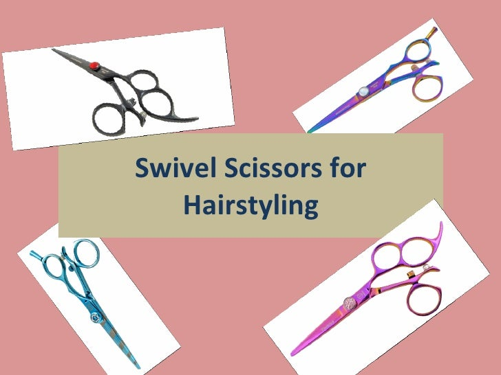 Swivel Scissors for Hairstyling