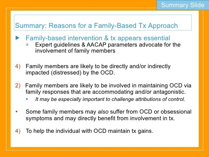 parents with ocd and the affects on children Parenting styles can impact a child's mental health and entire life, so it is important to understand how your behavior as a parent can influence your child this is certainly not to say that any parent can be blamed for their child's ocd however, caregivers have an important part of children's lives and it is.