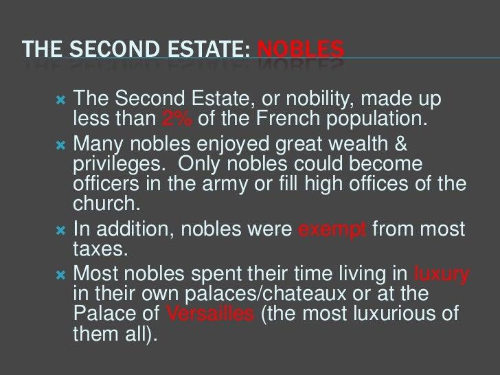 second estate
