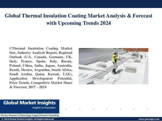 Introducing Latest Industry For Thermal Insulation Coating Market 201…