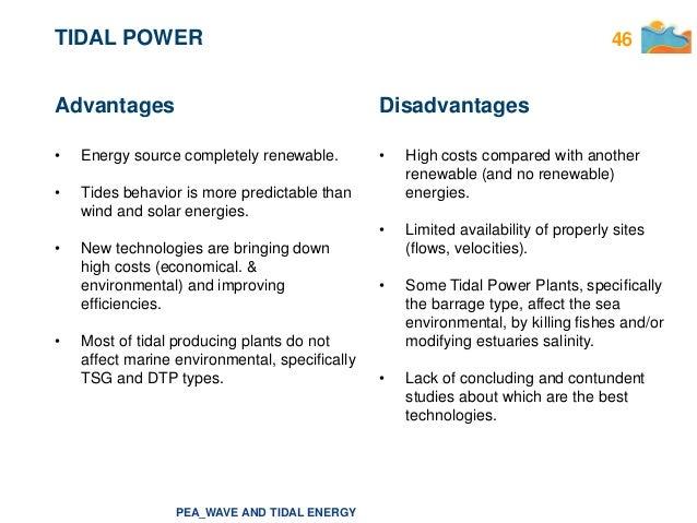 Tidal Energy Energ 205 A De Las Mareas