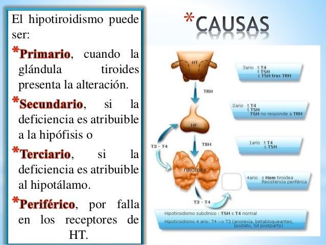 Hipotiroidismo e hipertiroidismo.