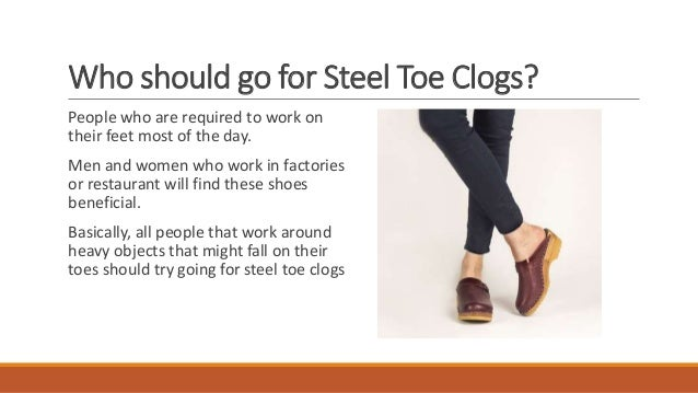 Handcrafted Steel Toe Clogs For Safety