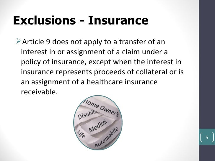 insurance in article 2 of ucc