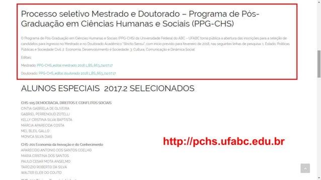 http://pchs.ufabc.edu.br