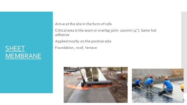 Waterproofing Concrete Civil Engineering Rebair Amp Rehab