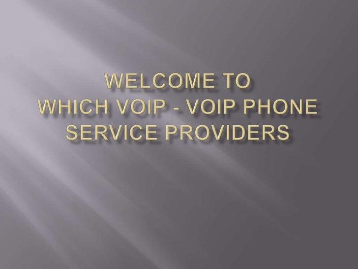    VoIP stands for Voice Over Internet Protocol.   VoIP is an Internet Phone Service which means    that one can use VoI...
