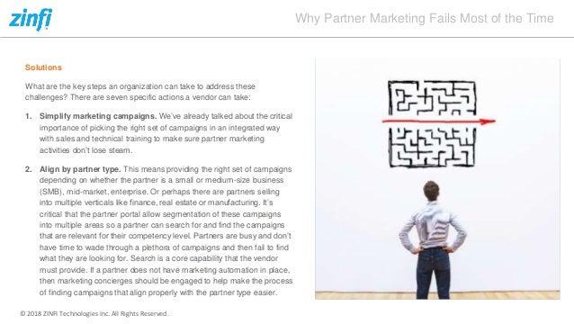 Reasons for Partner Marketing Failure