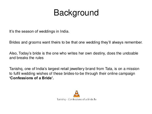 """Background It""""s the season of weddings in India. Brides and grooms want theirs to be that one wedding they""""ll always remem..."""