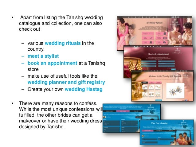 •  Apart from listing the Tanishq wedding catalogue and collection, one can also check out – various wedding rituals in th...
