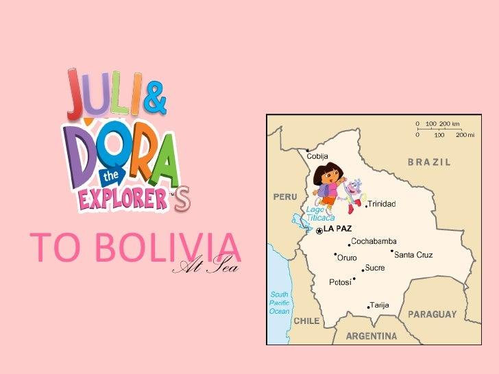 TO BOLIVIA      At Sea