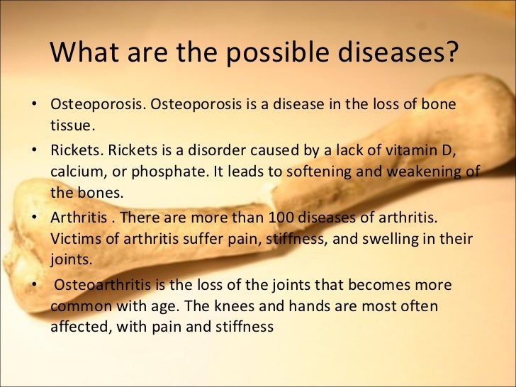 skeletal disease essay Osteoporosis, or porous bone, is a disease characterized by low bone mass and structural deterioration of bone tissue, leading to bone fragility and an increased risk of fractures of the hip, spine, and wrist men as well as women are affected by osteoporosis, a disease that can be prevented and.