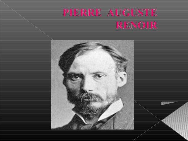   Peintre Français Impressionniste Né en 1841 à Limoges et mort en 1919 à Cagnes-sur-Mer