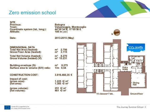 Elementary School in Valsamoggia (BO) - Zero Emission School (abstract) Slide 3