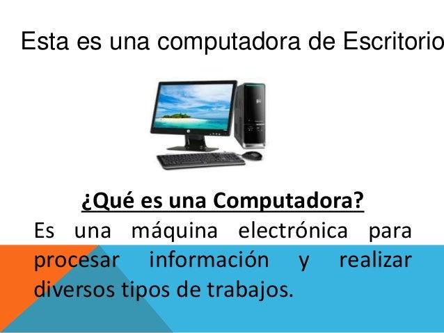 conocimiento de computadoras Slide 3